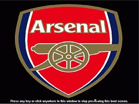 Arsenal FC bootskin