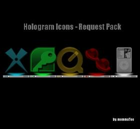 Hologram Icons - Request Pack