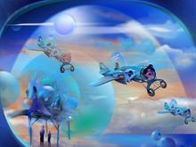 BubbleJets flyover