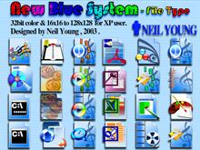 New Blue System File Type
