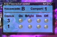 x10 Firecracker control