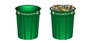 N.Y.C. Litter Basket Icon
