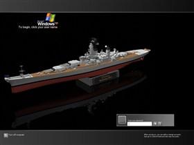USS Iowa logonXP