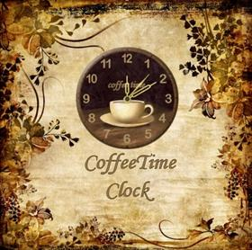 CoffeeTime clock