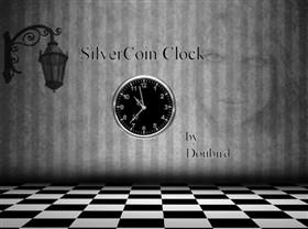 SilverCoin Clock