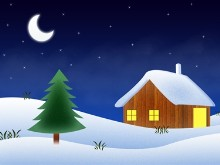Winter Night HD