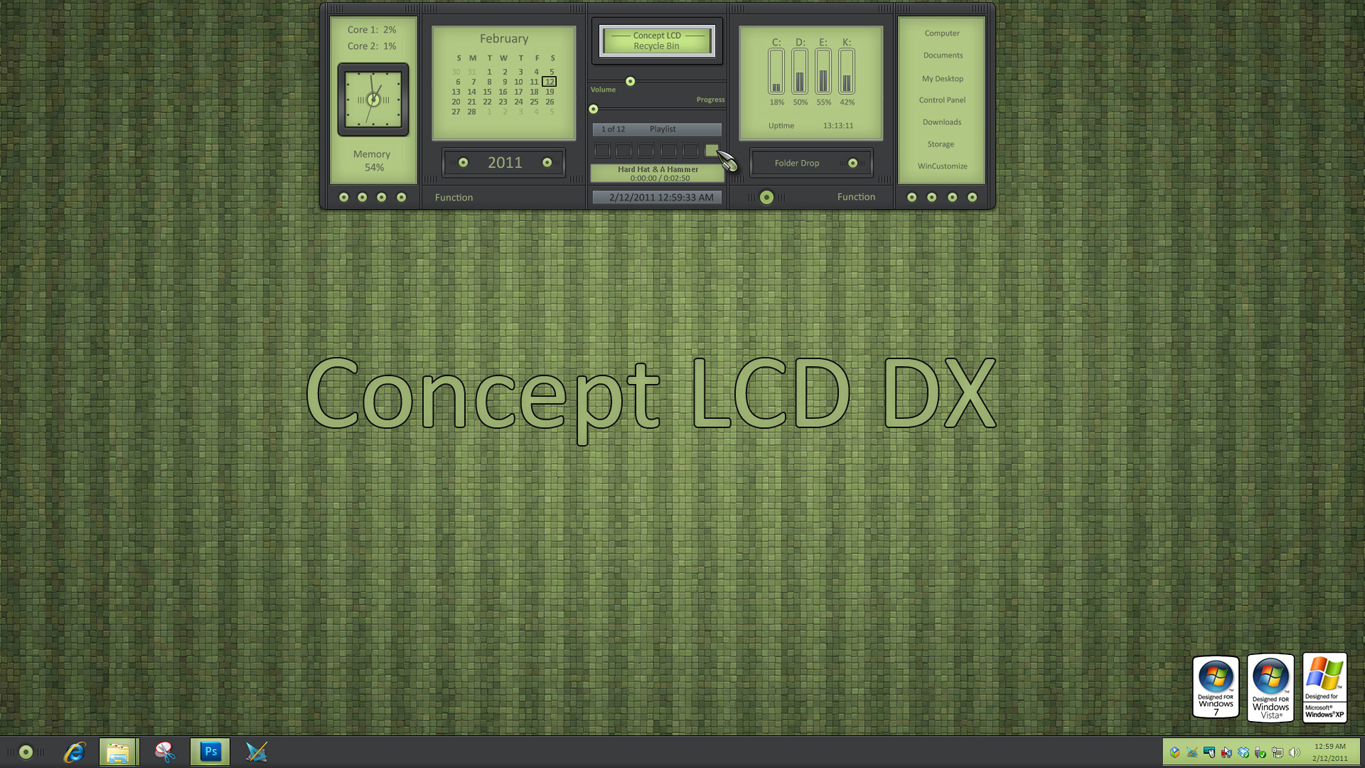 Concept LCD DX