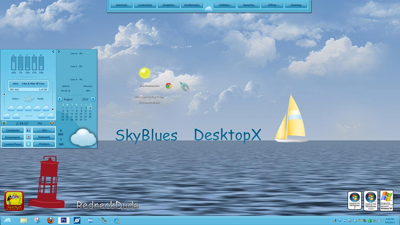 SkyBlues DX