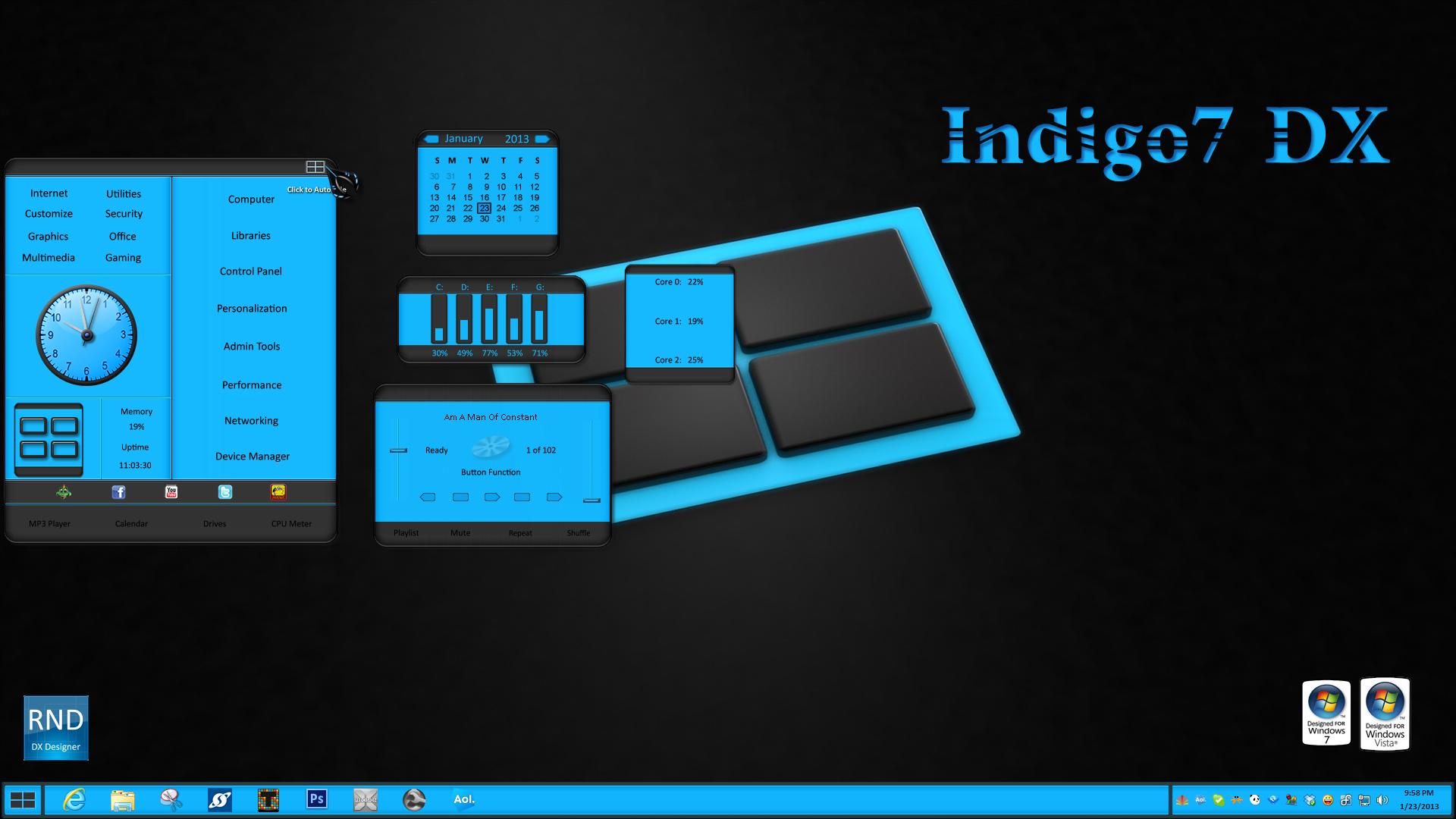 Indigo7 DX