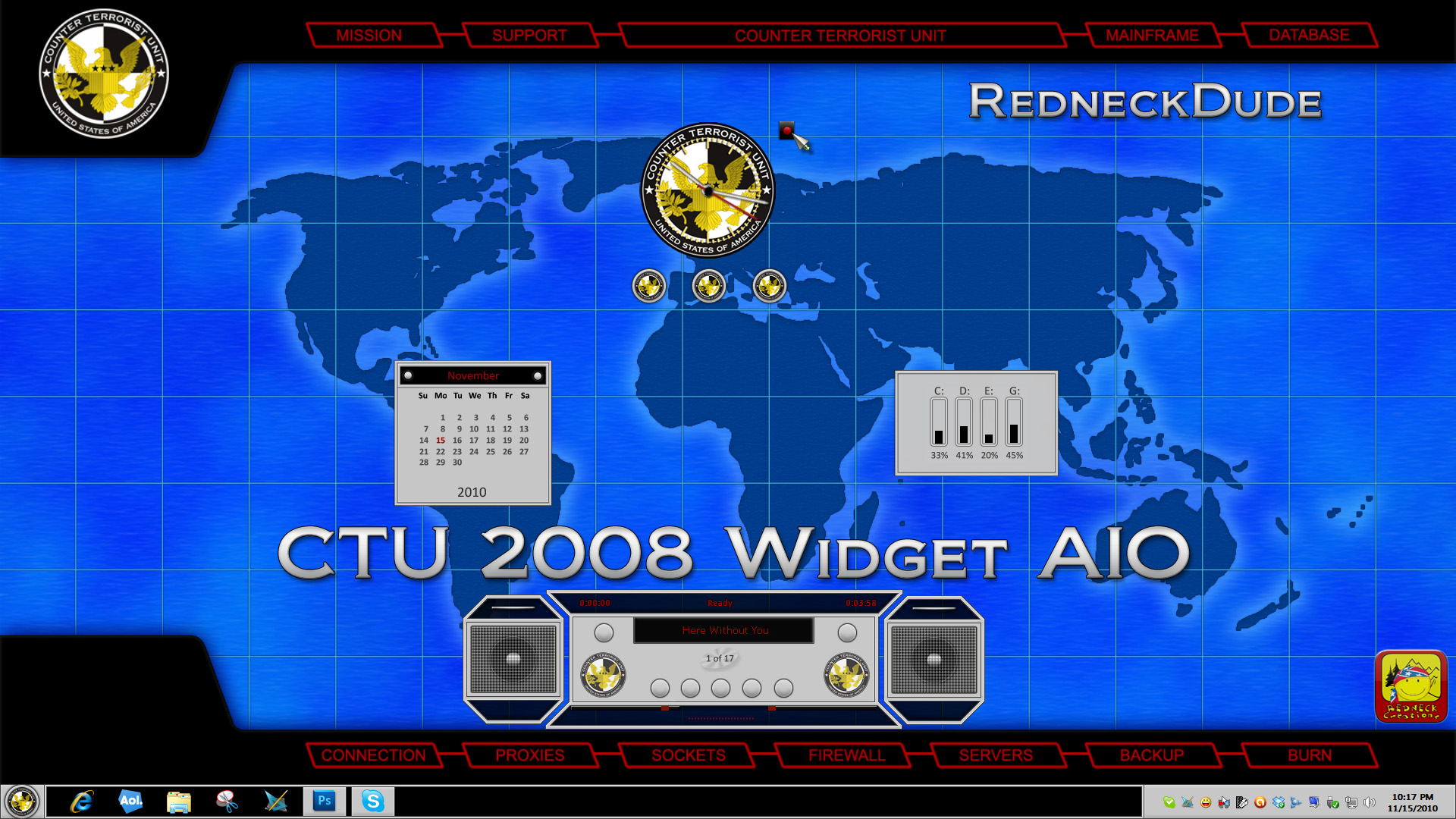 CTU 2008 Widget AIO