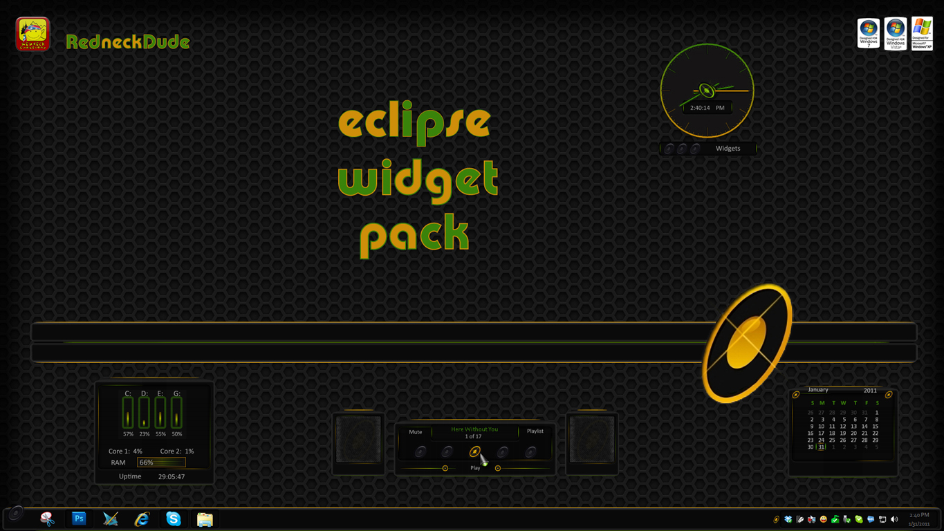 Eclipse Widget Pack