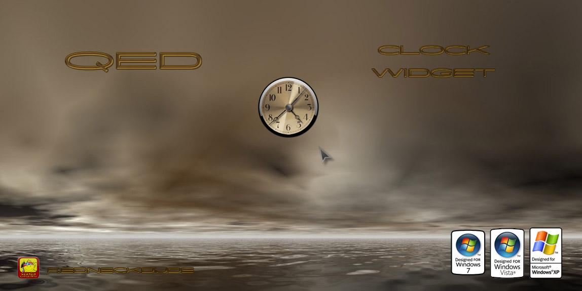 QED Clock Widget
