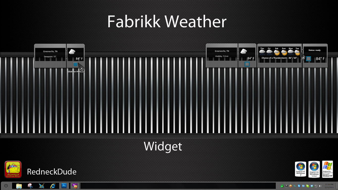 Fabrikk Weather Widget
