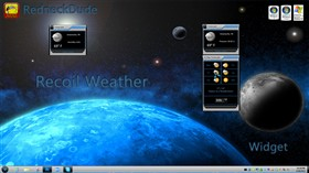 Recoil Weather Widget