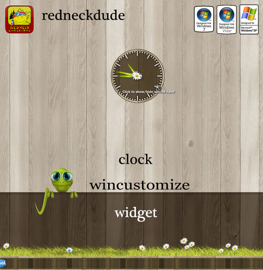 WinCustomize Clock Widget