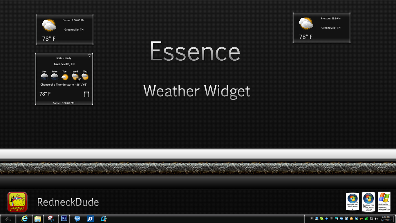 Essence Weather Widget