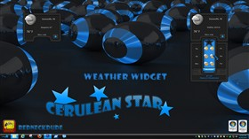 Cerulean Star Weather Widget