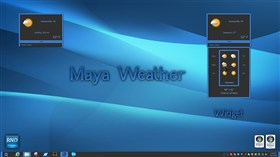 Maya Weather Widget