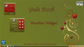 Yule Rock Weather Widget