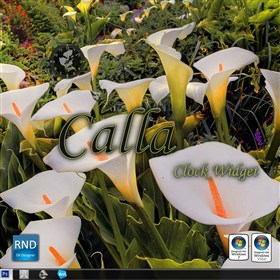 Calla Clock Widget