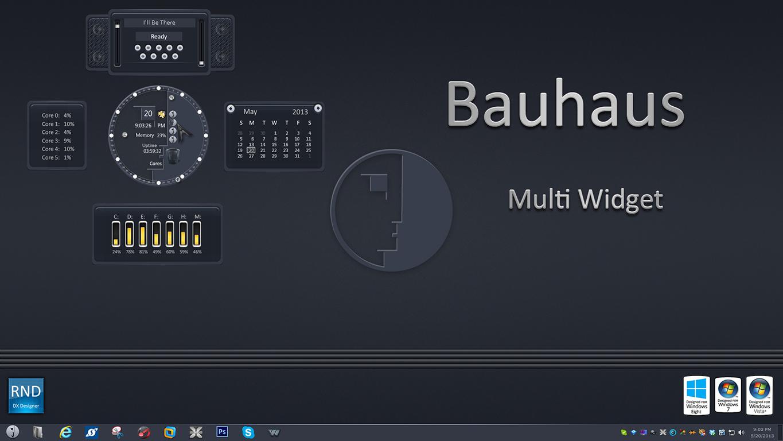 Bauhaus Multi Widget