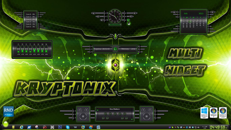 Kryptonix Multi Widget