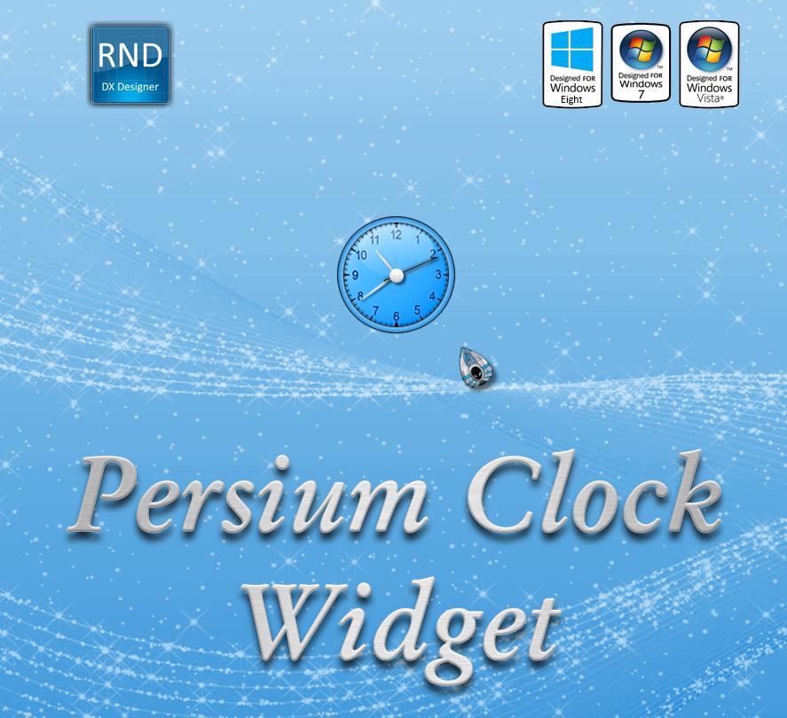 Persium Clock Widget