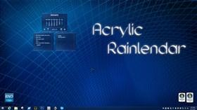Acrylic Rainlendar