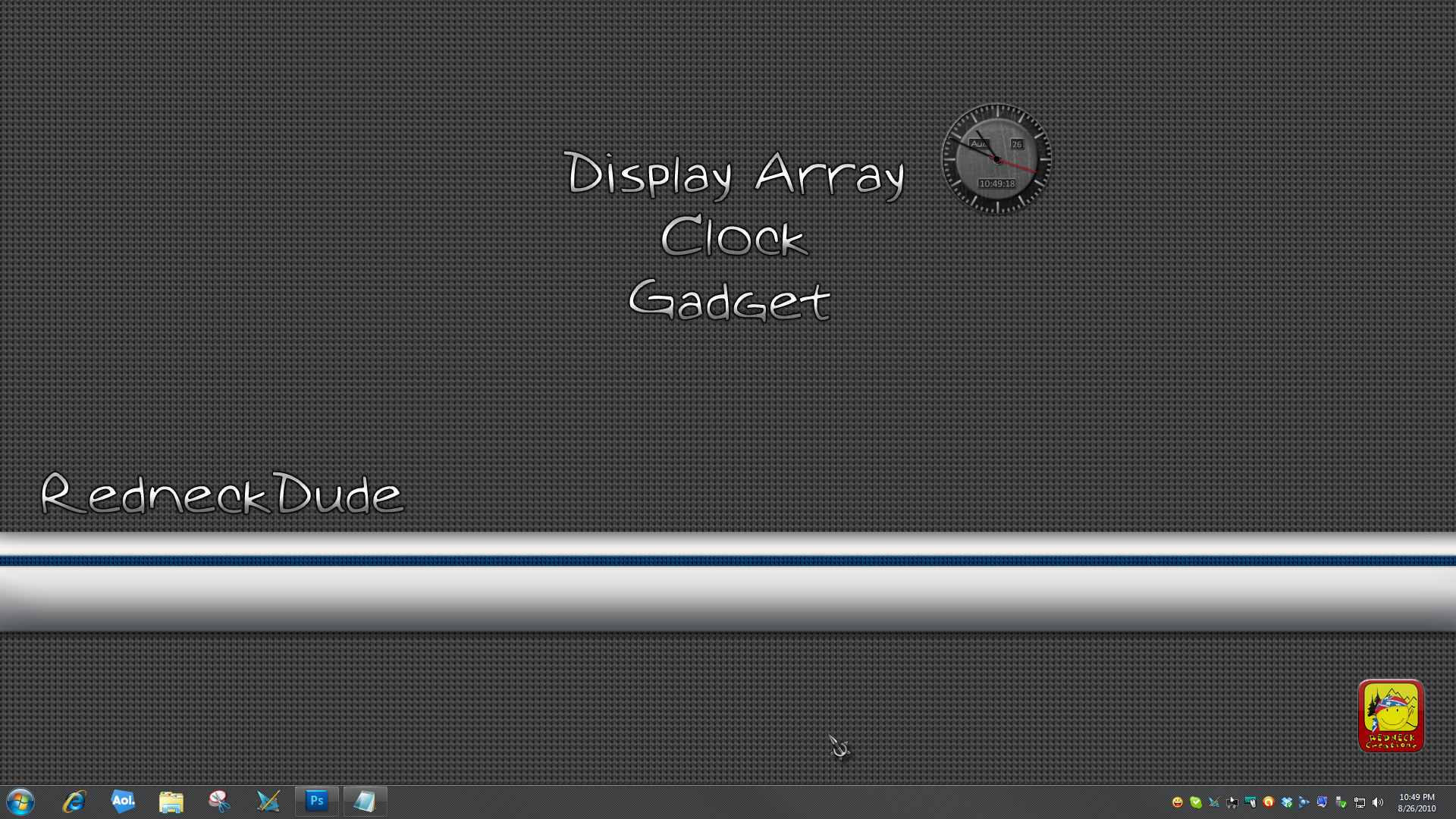 Display Array Clock Gadget
