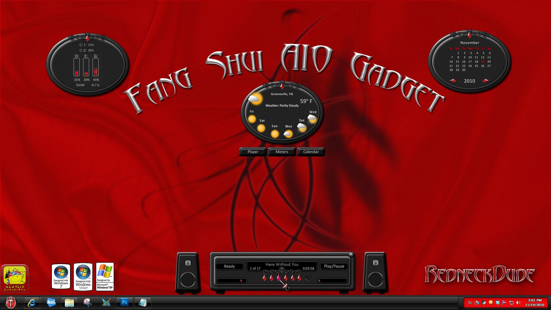 Fang Shui AIO Gadget