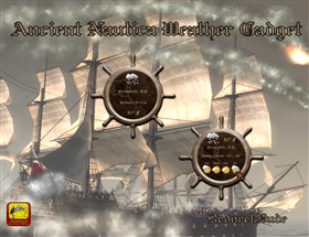 Ancient Nautica Weather Gadget