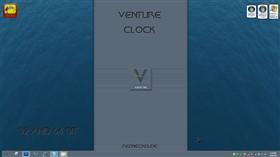 Venture Clock Gadget