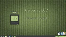 Concept LCD Calendar Gadget