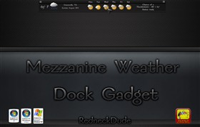 Mezzanine Weather Dock Gadget