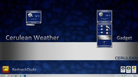 Cerulean Weather Gadget