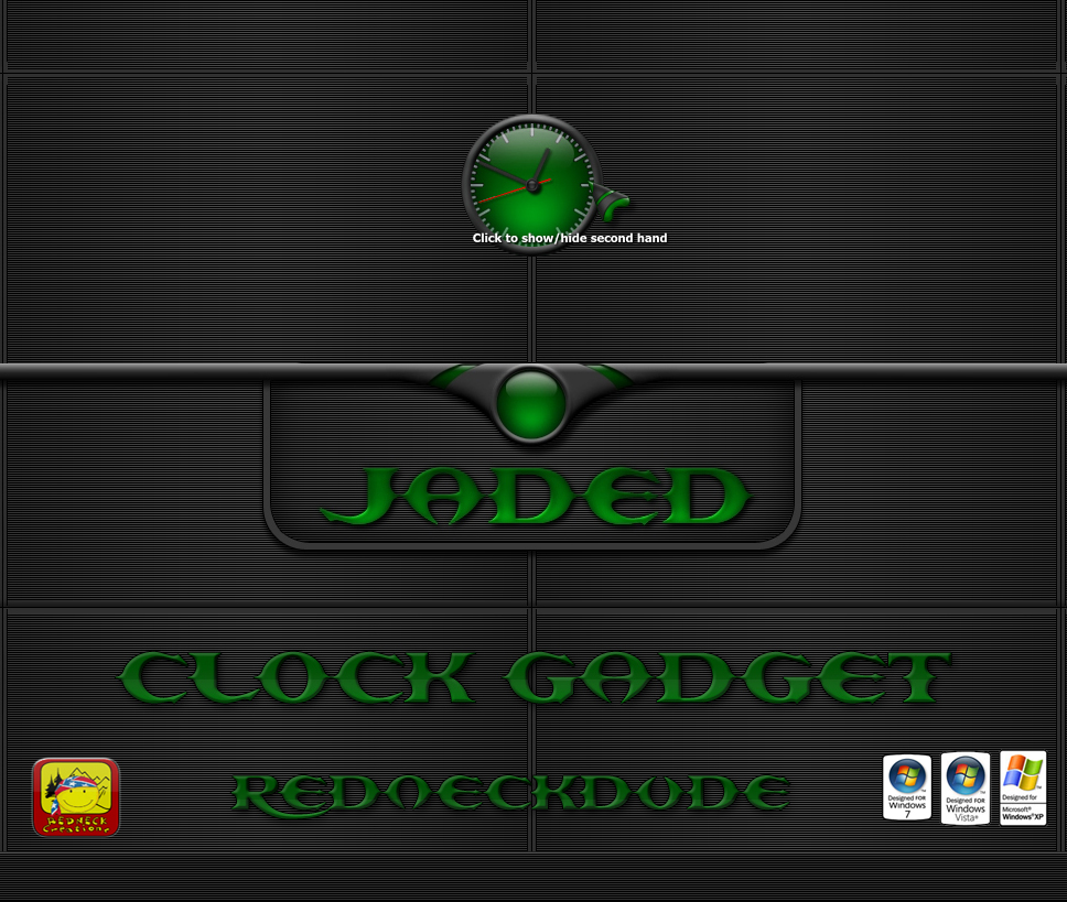 Jaded Clock Gadget