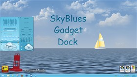 SkyBlues Gadget Dock