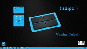 Indigo7 Weather Gadget