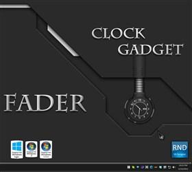 Fader Clock Gadget