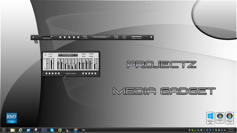 ProjectZ Media Gadget