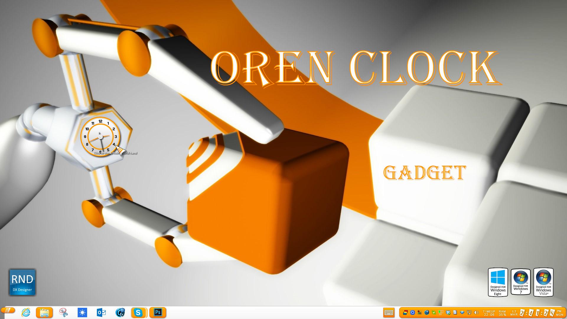 Oren Clock Gadget