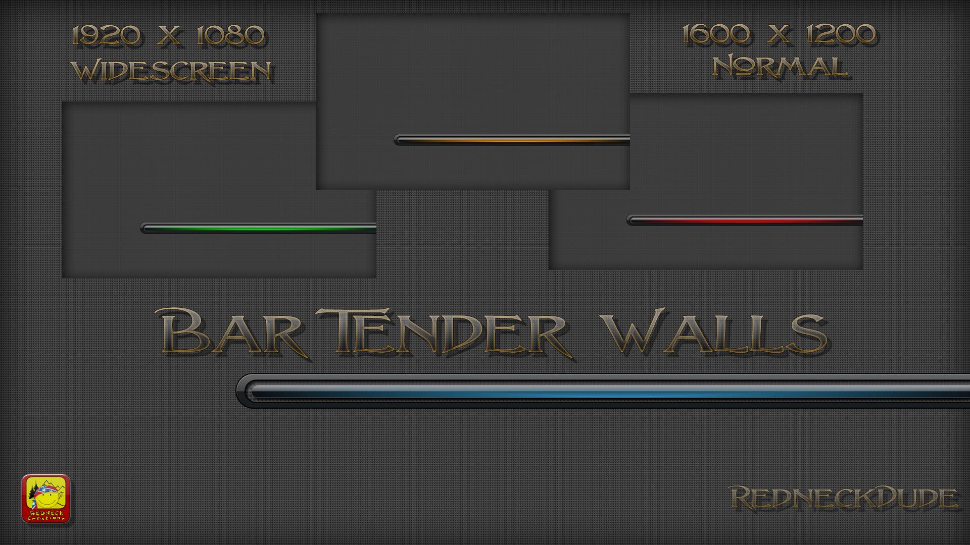 Bar Tender Walls