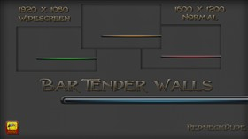 Bar Tender Walls