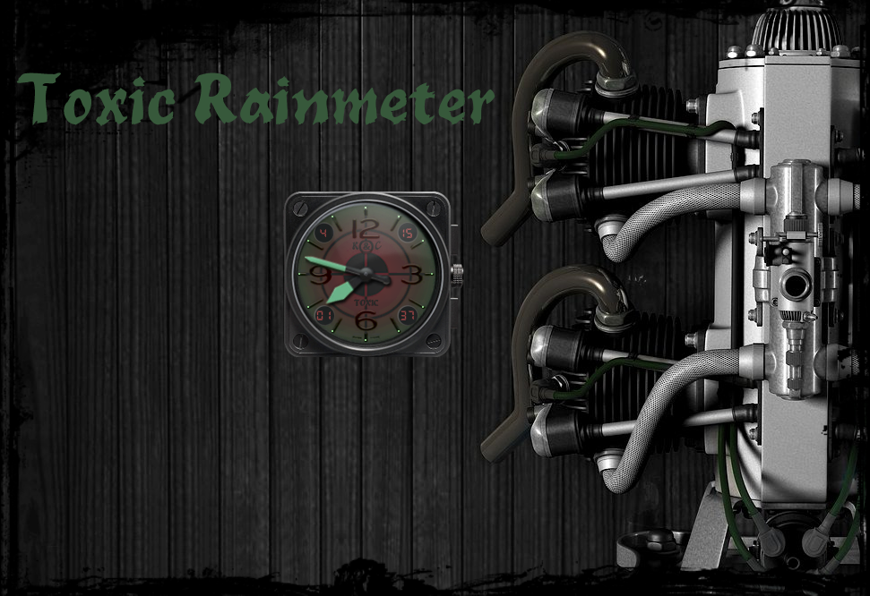 Toxic Rainmeter