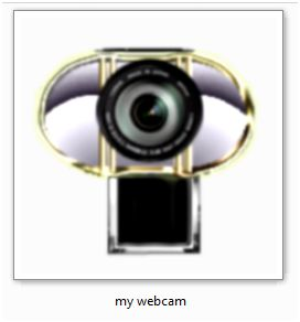 my webcam