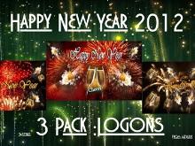 Happy New Year 3pk Logons