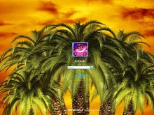 Palm Sunset Logon