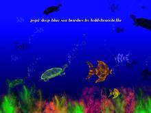 Deep blue sea brushes