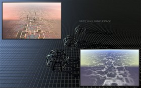 GRIDZ wallpaper sample pack