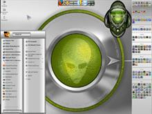Alien Chrome Desktop